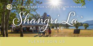 Please join us at Shangri La at the lake