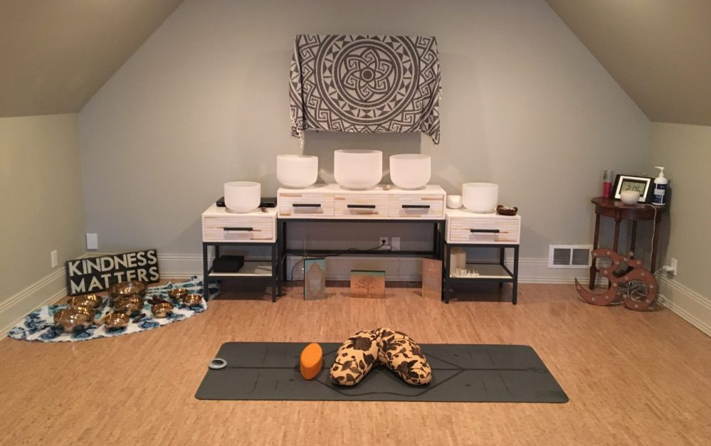 yoga room example
