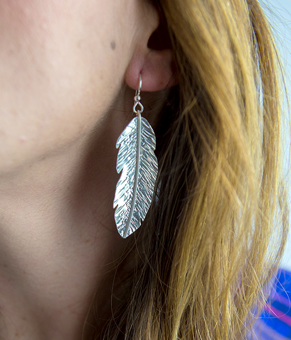 Freedome Feather Earrings